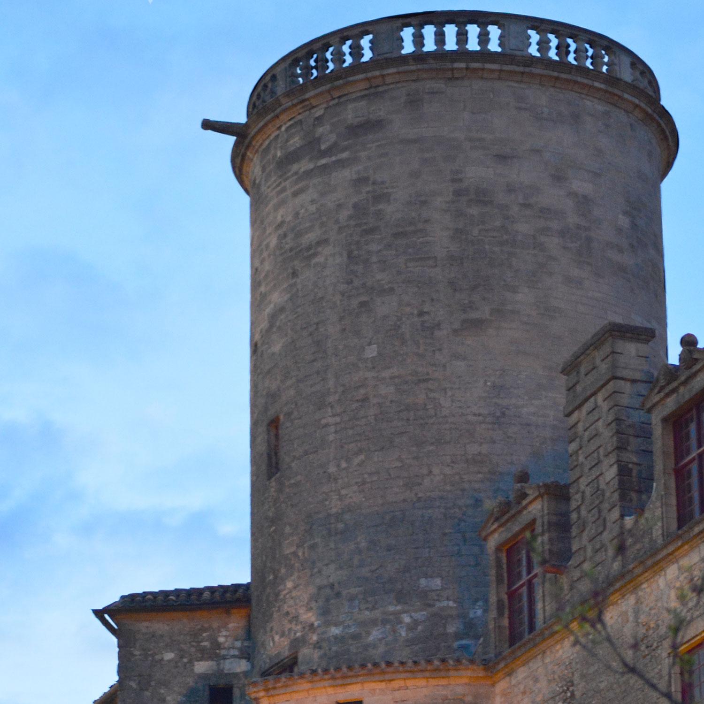 Chateau de Duras - La tour